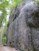 Rock Climbing Photo: Ankatalwand.  The climber is on Yetisports, the br...