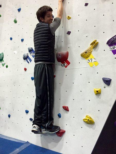 Climbing at 2,5 month