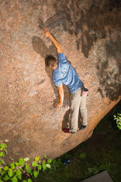 Rock Climbing Photo: Organic Slab.