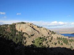 Rock Climbing Photo: Photo from Howard Trail.