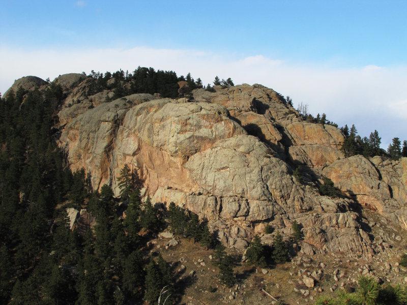 Rock Climbing Photo: AR South Face.