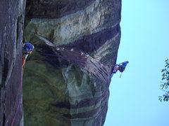 Rock Climbing Photo: RONA pitch two