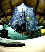 Rock Climbing Photo: Hanging boulder.