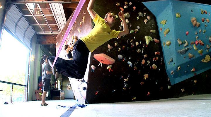 Rock Climbing Photo: Slackline.