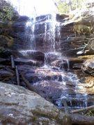 Moss Rock Waterfall