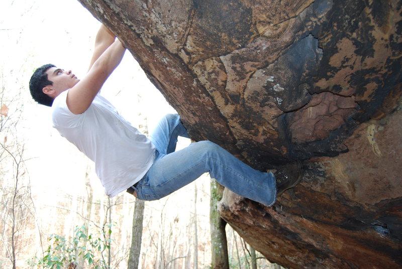 Free Climbing at Moss Rock
