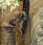 Rock Climbing Photo: The wide stuff from the ground. On river right; ju...