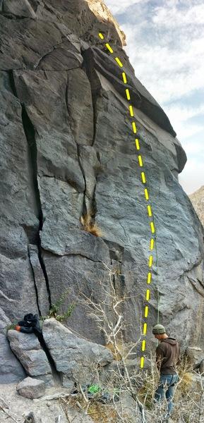 Rock Climbing Photo: Nice 5.11a!
