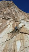 Rock Climbing Photo: tj on 1st pitch