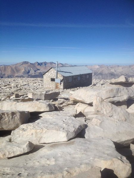 Mt. Whitney Solo East Buttress. 8.5 hrs.