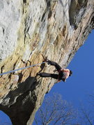 Rock Climbing Photo: Jenn On Misty.
