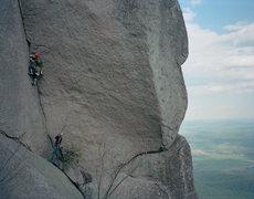 Rock Climbing Photo: OMG