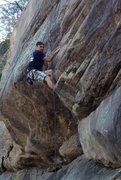 Rock Climbing Photo: Moon Doggie - 5.8 crack can be lead or TRd