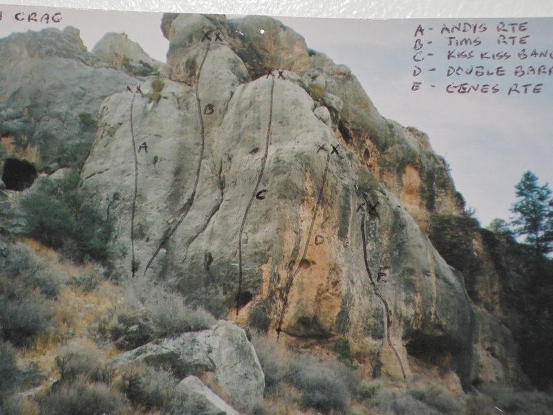 Rock Climbing Photo: Logan Crag.