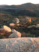Rock Climbing Photo: Picturesque view from atop Dos Equis Boulder. This...