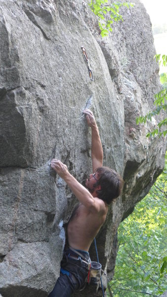 Unknown climber on Get 'er Done