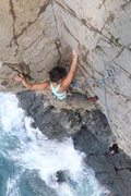 Rock Climbing Photo: Upper section of Special Bolt Services.  Kim Swens...