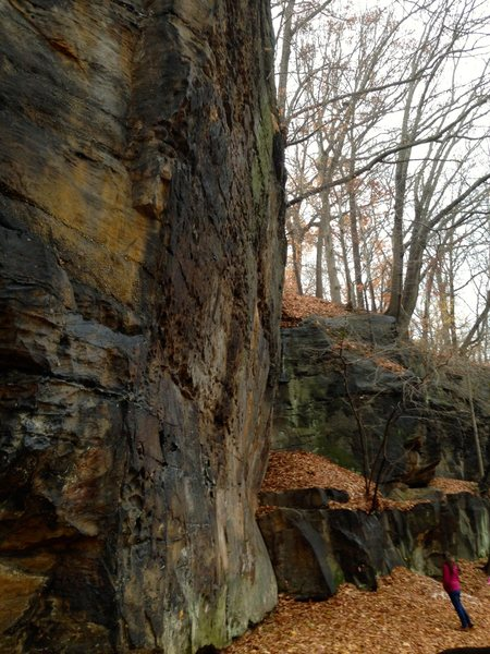 Rock Climbing Photo: Great rock face in NE Ohio!