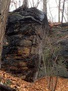 Rock Climbing Photo: Not yet climbed.