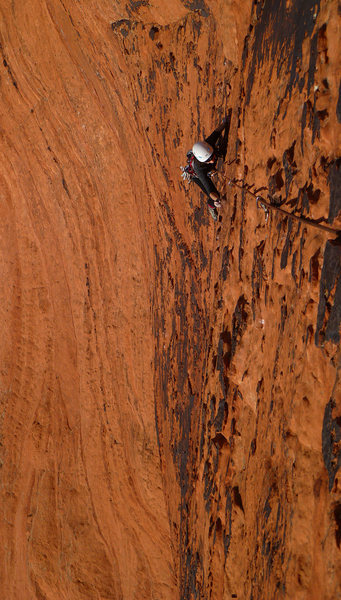 Rock Climbing Photo: Sometimes we like climbing on Mars