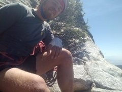 Rock Climbing Photo: midway up the Long route at Tahquitz