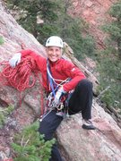 Rock Climbing Photo: Hanging Out in Eldo