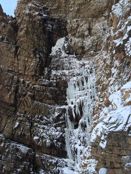 Malan's Falls near Ogden, UT 11/23/2014
