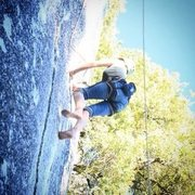 Rock Climbing Photo: Climbing on my birthday 7/3/2011