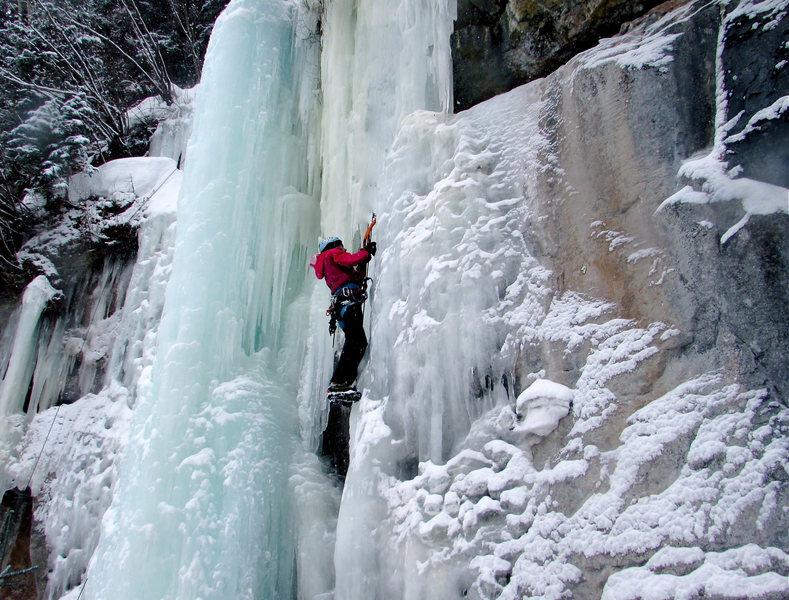 Rock Climbing Photo: Vail Ice