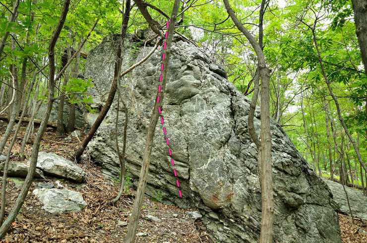 Green and White boulder problem