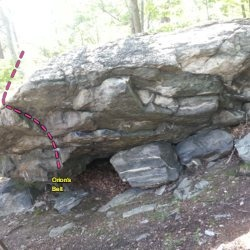 East Side of the Starlight Boulder