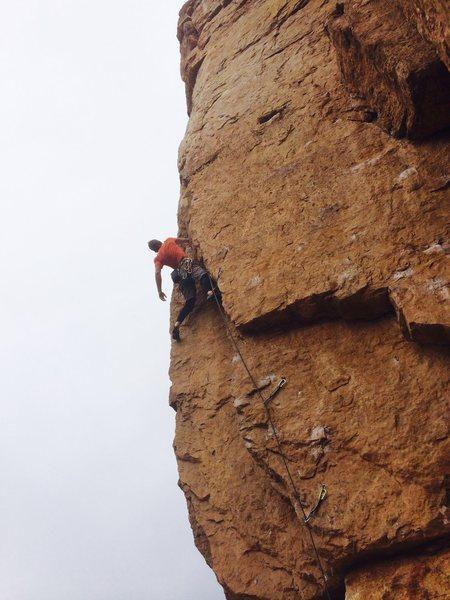 Rock Climbing Photo: Sundogs.