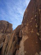 Rock Climbing Photo: Kyle starting out on the balancy moves of Turning ...