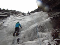 Rock Climbing Photo: Great White Icicicle - 22 Nov 2014