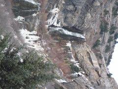 Rock Climbing Photo: Bridal Veil Falls - 23 Nov 2014