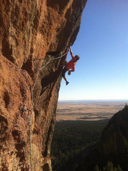 Rock Climbing Photo: Alex.