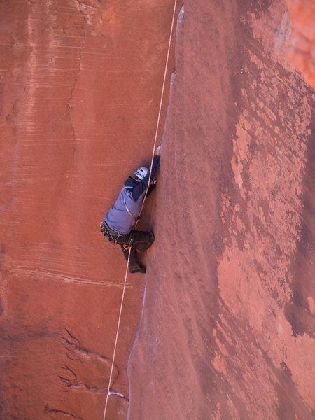 Rock Climbing Photo: climbing the fox