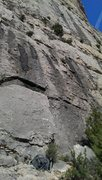 Rock Climbing Photo: Base of the route.