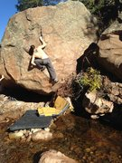 Rock Climbing Photo: Patrick.