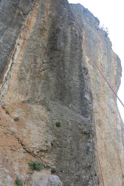 Rock Climbing Photo: The rope line is Skatala.