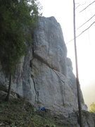 Rock Climbing Photo: The west face of Richard Wagner Fels, home to uber...