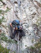 leading at seneca rocks
