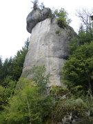 Rock Climbing Photo: A closer look at the southeast aspect.