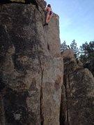 Rock Climbing Photo: Naked free solo