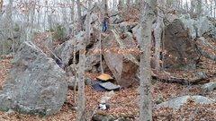 Rock Climbing Photo: Main cluster
