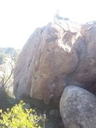 Rock Climbing Photo: Jenna the ghost atop to Royal Arete