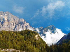 Rock Climbing Photo: Looking South East from Torre Venezia trail 555 af...