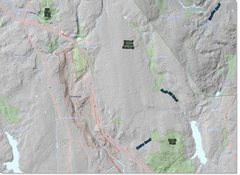 Rock Climbing Photo: Park Boundaries and Topo.