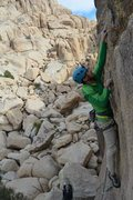 Rock Climbing Photo: Some fun movement through the well protected bolt ...