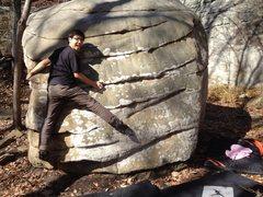 "Rock Climbing Photo: Lucas gettin on ""7-10 Split"" during his ..."